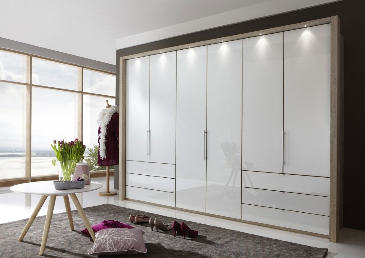 Preferred 6 Doors Wardrobes In Wiemann Loft 6 Door Wardrobe Now In 2 Heights With Bi Fold (View 9 of 15)