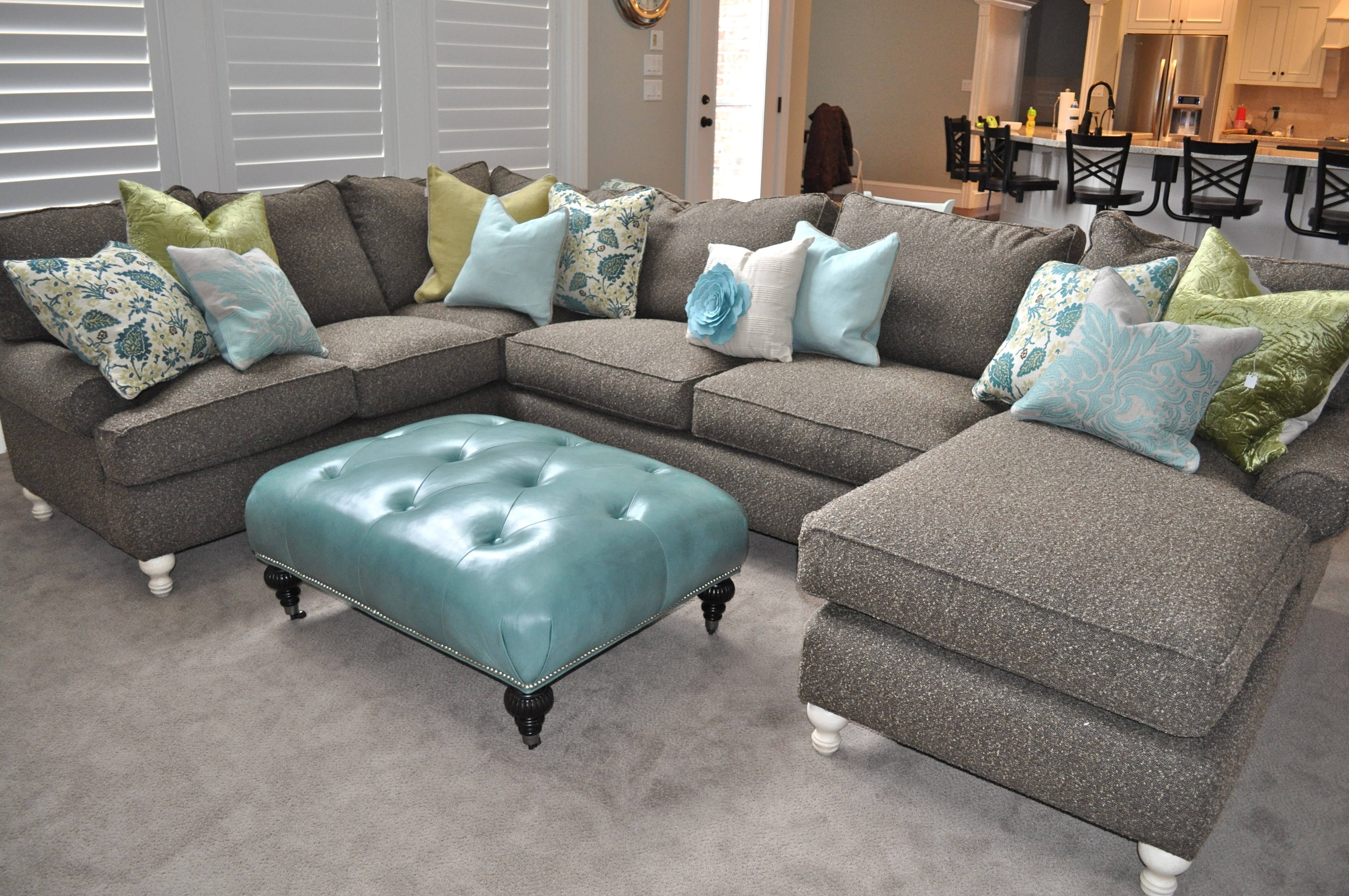 Preferred Amusing Sectional Sofa With Chaise And Ottoman 81 On Charcoal Gray In Gray Sectional Sofas With Chaise (View 11 of 15)