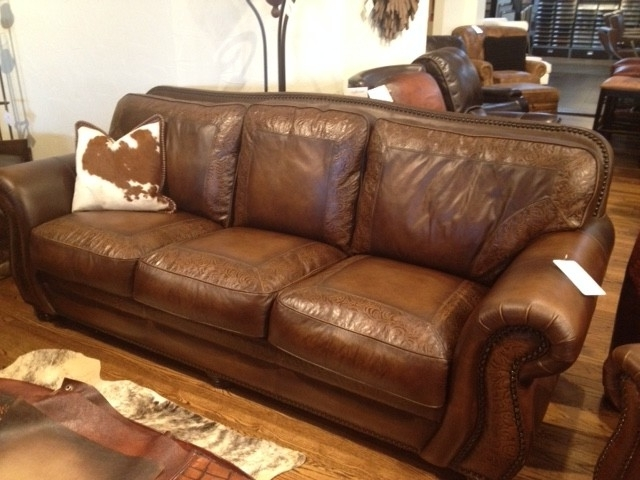 Preferred Aspen Leather Sofas Pertaining To Aspen Sofaartistic Leathers (austin & Houston) – Rustic (View 8 of 10)