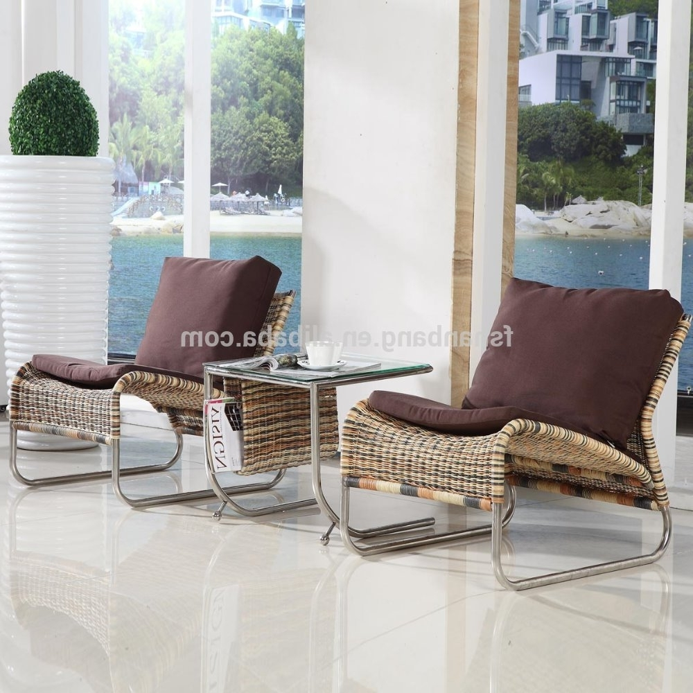 Preferred Chaise Lounge Chairs For Sunroom With Regard To New Designed Modern Portable Indoor Rattan Hand Woven Wicker (View 2 of 15)