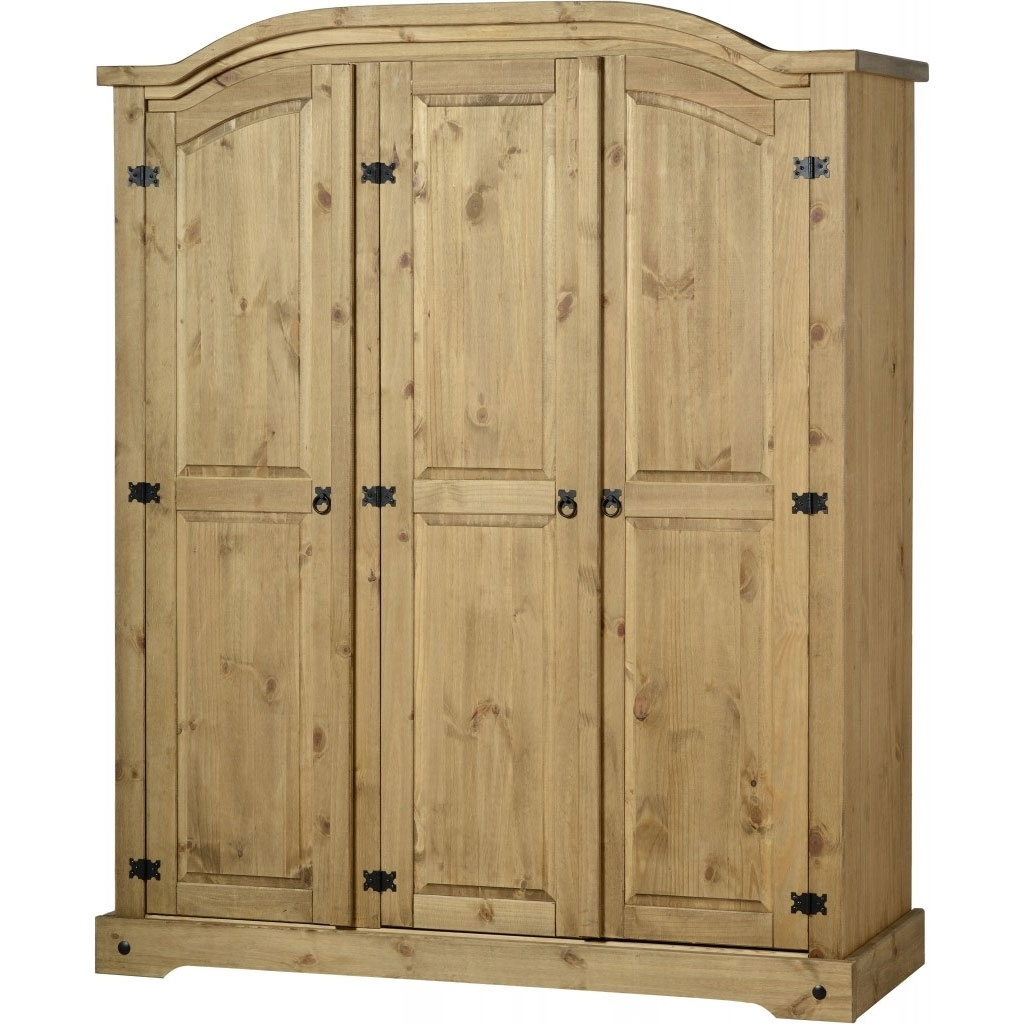 Preferred Corona 3 Door Wardrobes Within Corona 3 Door Wardrobe – Fall For Furniture (View 14 of 15)