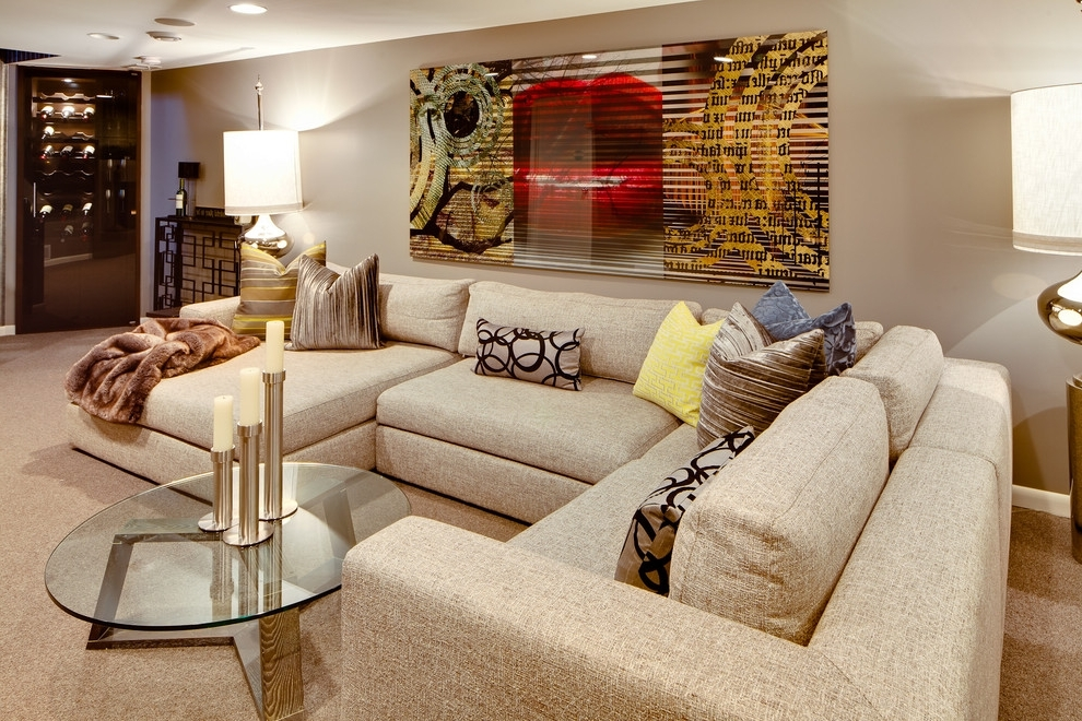 Preferred Deep U Shaped Sectionals With Regard To Sofa Beds Design: Breathtaking Modern Large Deep Sectional Sofas (View 7 of 10)