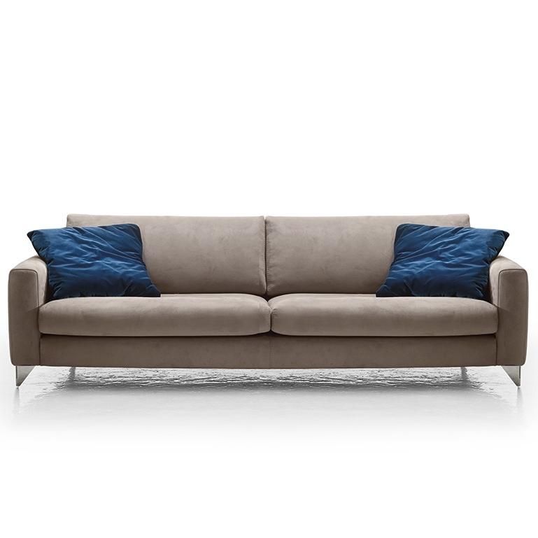 Preferred Florence Modern Italia Sofa, Grey For Florence Sofas (View 8 of 10)