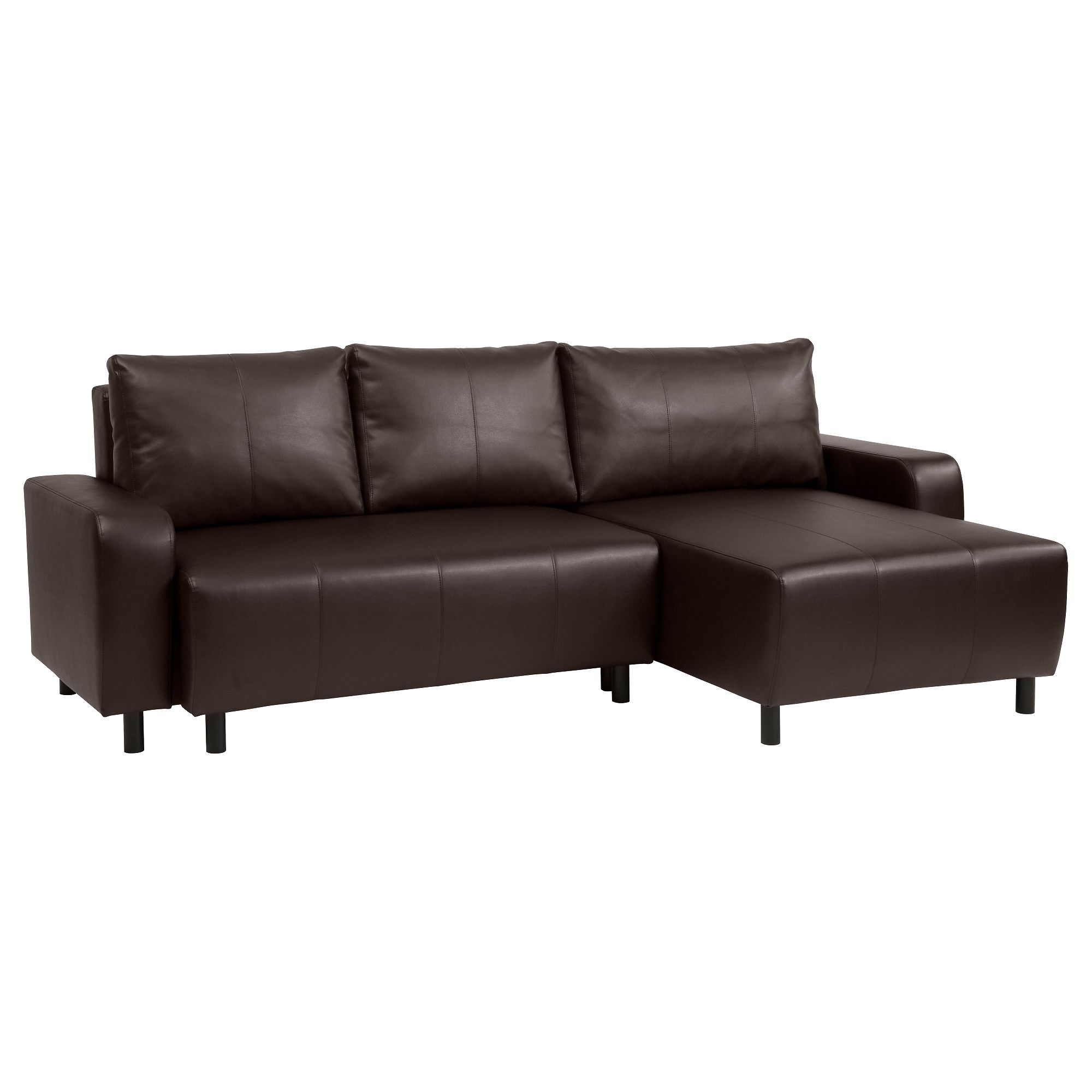 Preferred Ikea Chaise Couches In Ikea – Djursbo, Sleeper Sectional, 3 Seat, Kimstad Brown, , You (View 12 of 15)