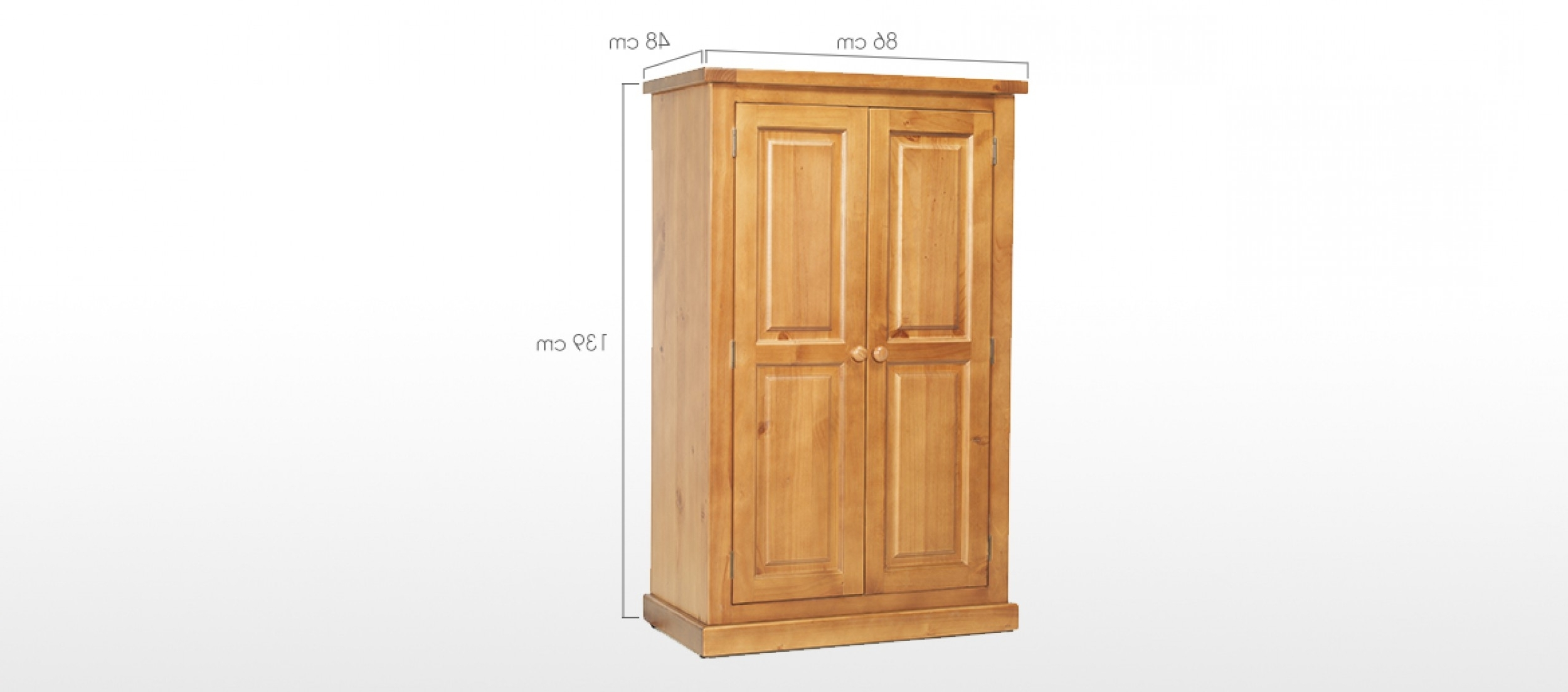Featured Photo of Kids Pine Wardrobes