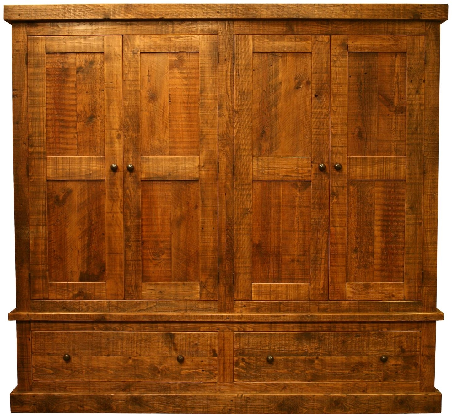 Preferred Large Reclaimed Pine Wardrobe – Vintage & Reclaimed Furniture In Large Antique Wardrobes (View 13 of 15)