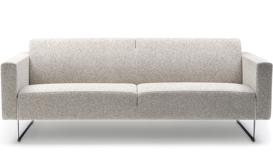 Preferred Mare 2 Seater Sofa With Fixed Cushions – Hivemodern Regarding 2 Seater Sofas (View 14 of 15)