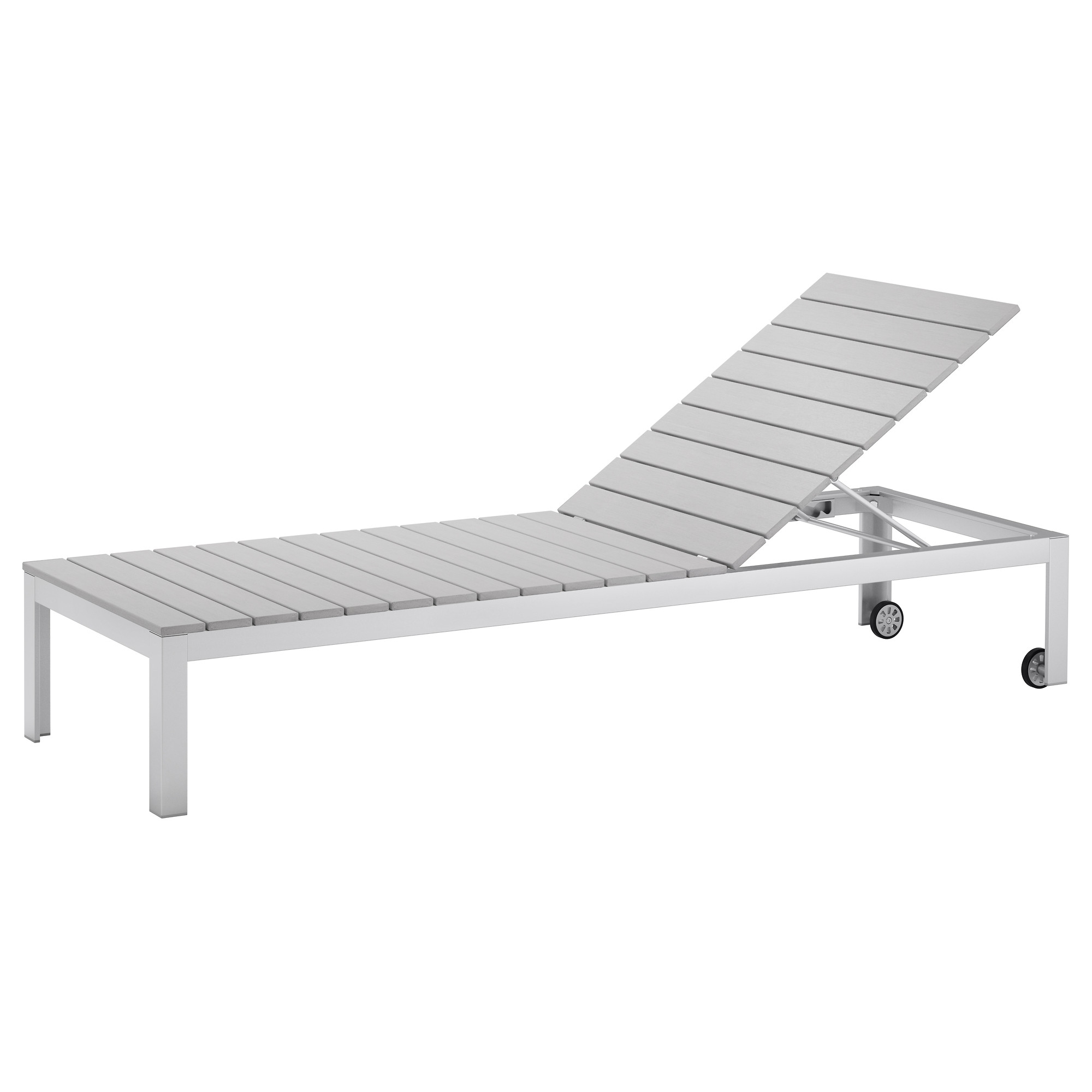 Preferred Outdoor Ikea Chaise Lounge Chairs Inside Ikea – Falster, Chaise, Gray, , , The Back Can Be Adjusted To Six (View 12 of 15)