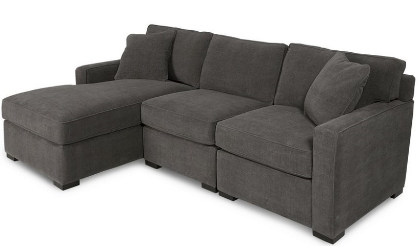 Preferred Radley 3 Piece Fabric Chaise Sectional Sofa (View 6 of 15)