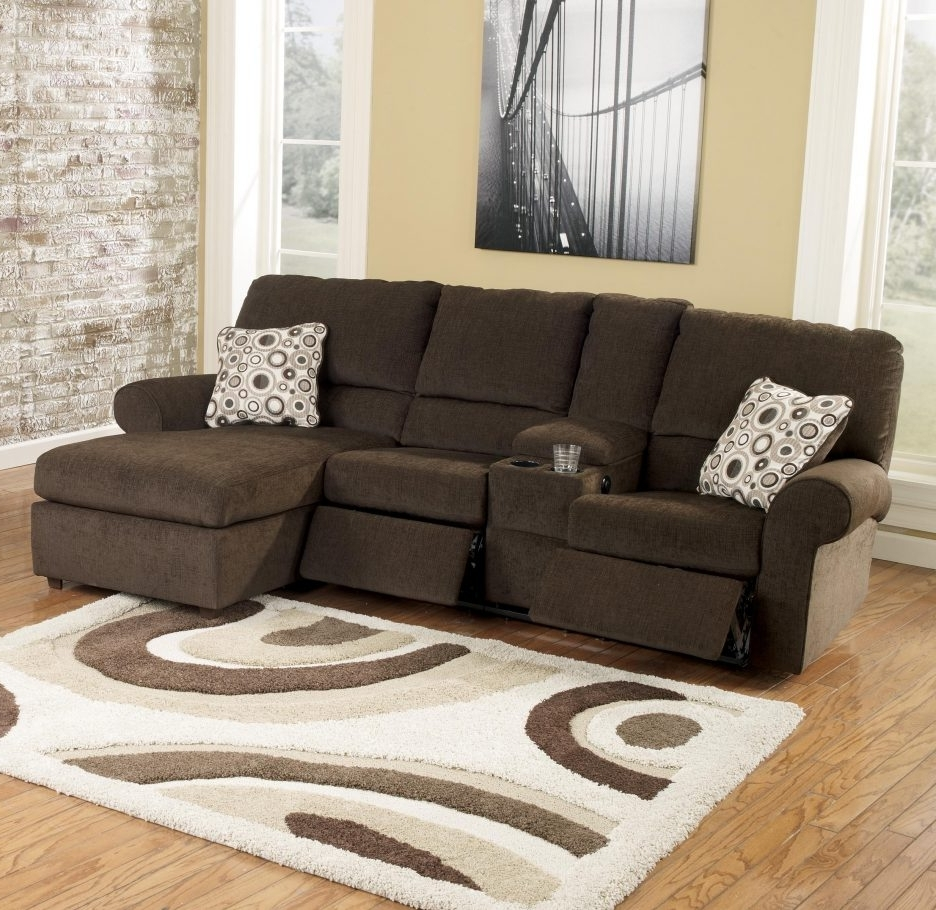 Preferred Reclining Sofas With Chaise Regarding Fabric Sectional Sofas With Chaise And Recliner (View 10 of 15)