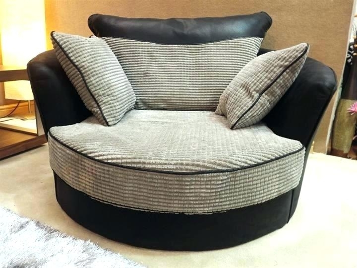 Preferred Sofas With Swivel Chair Intended For Corner Sofa With Swivel Chair Uk Oversized Chairs – Swivel Chair (View 6 of 10)