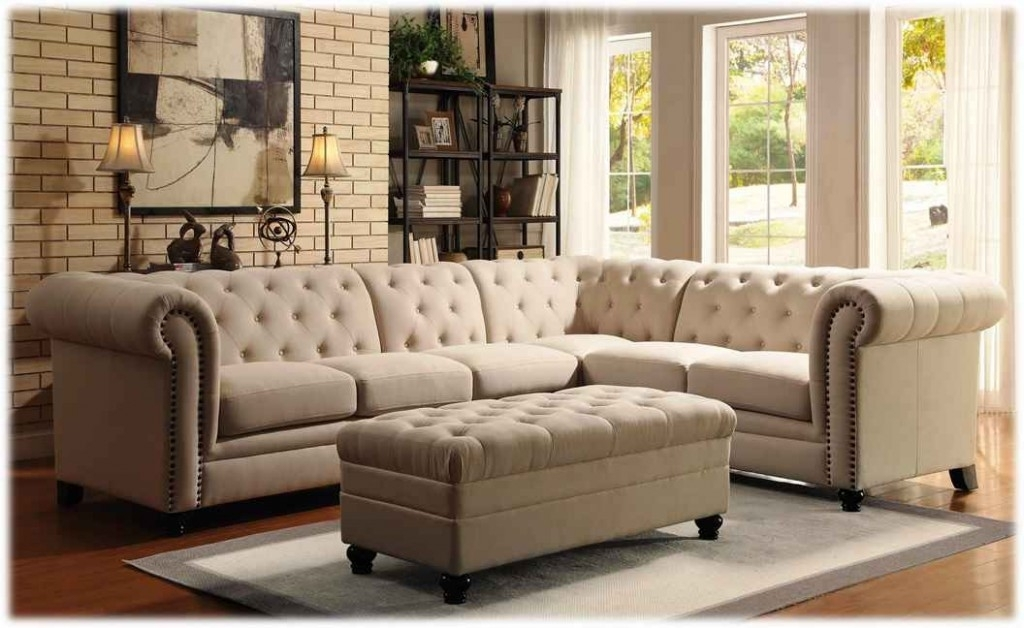 Preferred Tufted Sectional Sofas With Chaise Intended For Best Traditional Sectional Sofas With Chaise Contemporary (View 7 of 10)