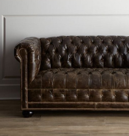 Preferred Tufted Sofas With Tufted Leather Chesterfield Sofas (View 8 of 10)