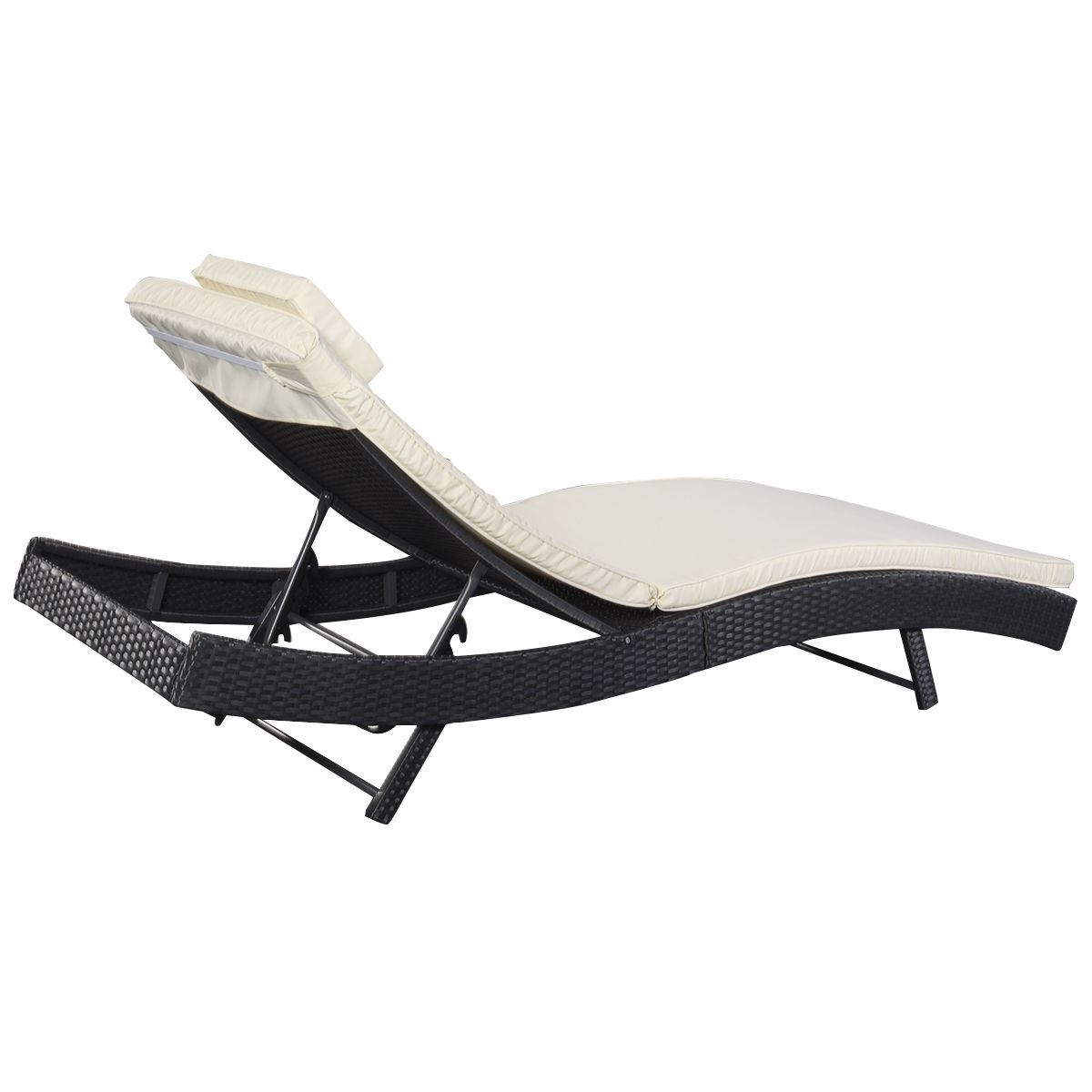Preferred Vinyl Chaise Lounge Chairs Intended For Outdoor : Target Lounge Chairs Vinyl Strap Chaise Lounge Outdoor (View 4 of 15)