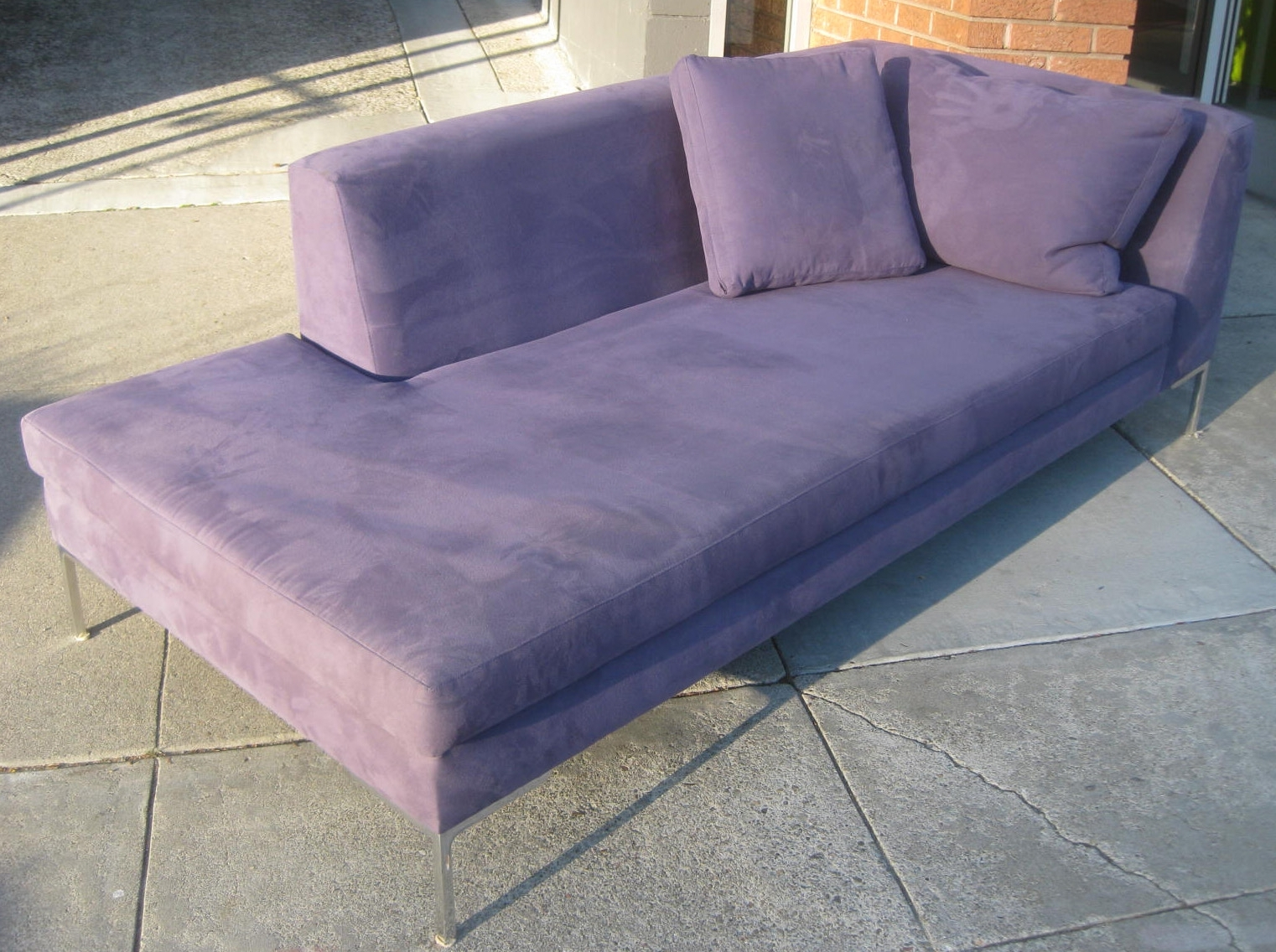 Purple Chaise Lounges Inside Most Recent Uhuru Furniture & Collectibles: Sold  Purple Chaise Lounge + (View 9 of 15)