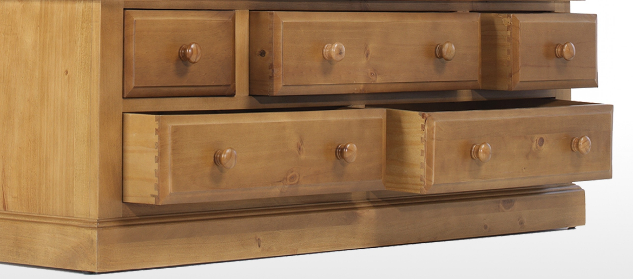 Quercus Living In Pine Wardrobes With Drawers (Gallery 8 of 15)