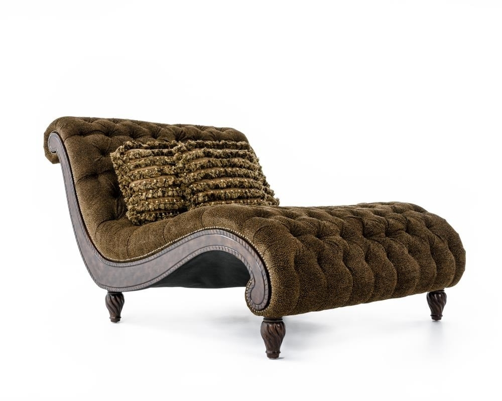 Rachlin Classics Dinah Decorative Dinah Chaise With Exotic Regarding Most Popular Exotic Chaise Lounge Chairs (View 11 of 15)