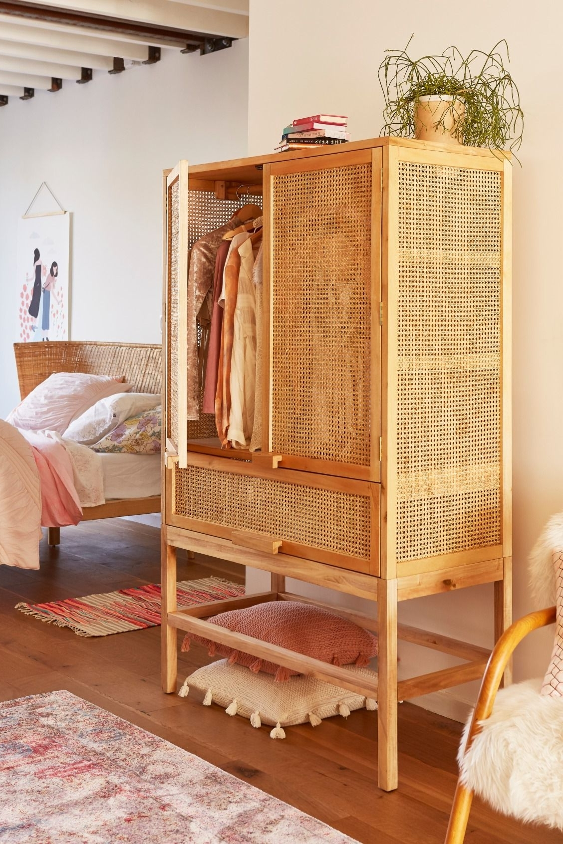 Rattan Wardrobes In Famous With This Cabinet You Can Create A Beachy, Relaxed Style In Your (View 6 of 15)