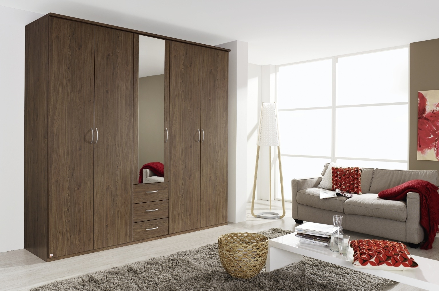 Rauch Kent Wardrobes – Furniture Brothers With Regard To Trendy Rauch Wardrobes (Gallery 5 of 15)