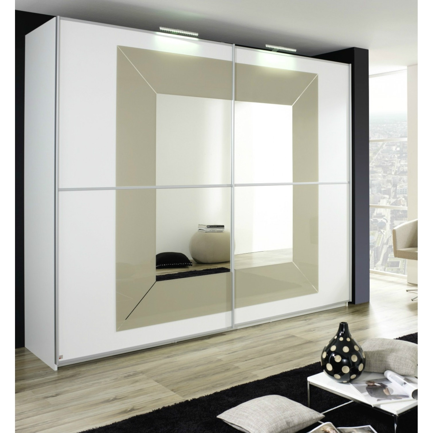 Rauch Sliding Wardrobes Regarding Well Known Focus Dialog Rauch Sliding Wardrobe (225Cm) – Wardrobes – Bedrooms (View 7 of 15)