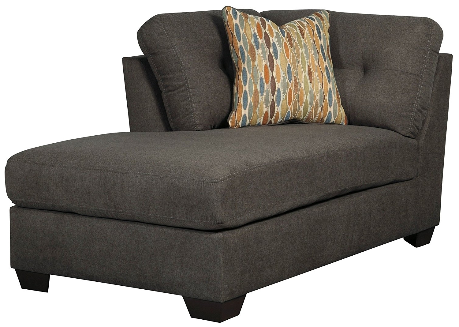 Recent Amazon: Ashley Furniture Delta City Right Corner Chaise Lounge Regarding Ashley Chaise Lounges (View 11 of 15)