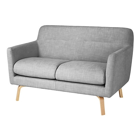 Recent Awesome Buy Housejohn Lewis Archie Small 2 Seater Sofa Light Intended For Small 2 Seater Sofas (View 6 of 10)