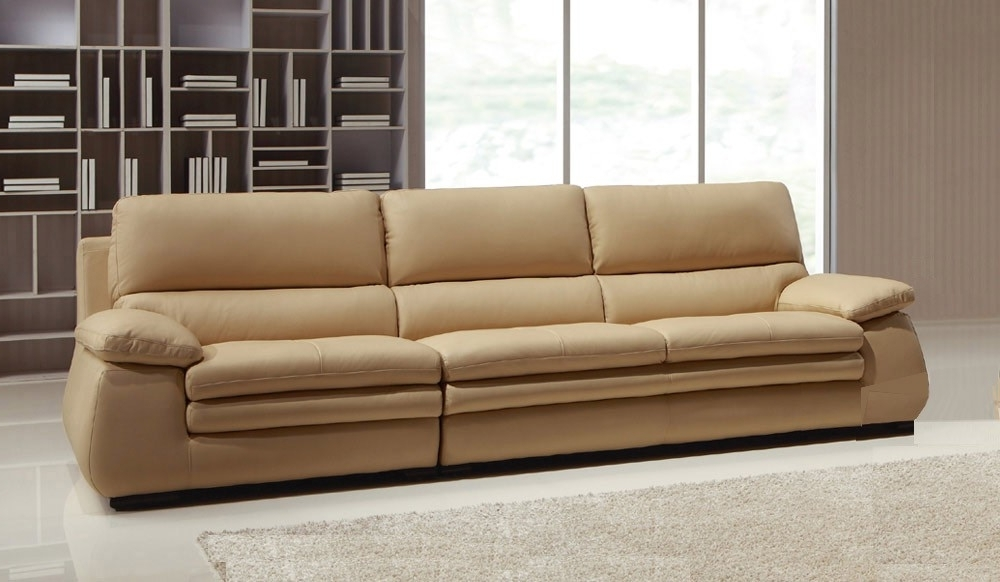 Recent Carleto Luxury Leather Sofa – 4 Seater – High Quality – Delux Deco Within 4 Seater Sofas (View 6 of 15)
