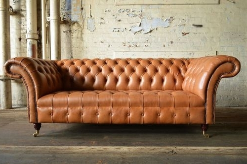 Recent Chesterfield Sofas Within Chesterfield Sofa Genuine Leather 3 Chesterfield Sofa Design At Rs (View 9 of 10)