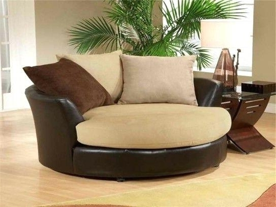 Recent Cuddler Swivel Sofa Chairs Intended For Wondrous Swivel Sofa Chair For House Design – Rewardjunkie (View 9 of 10)
