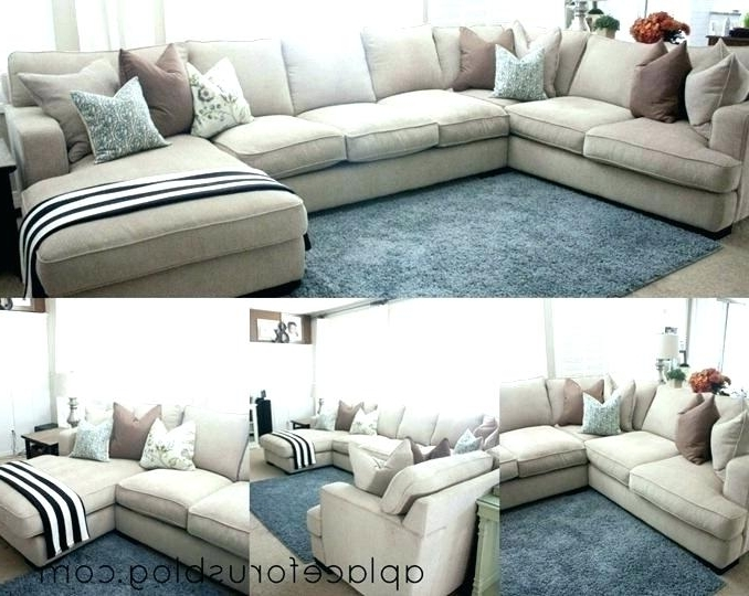 Recent Deep Seating Sofa Stylish Seat Sectional With Chaise Impressive Within Deep Cushion Sofas (View 8 of 10)