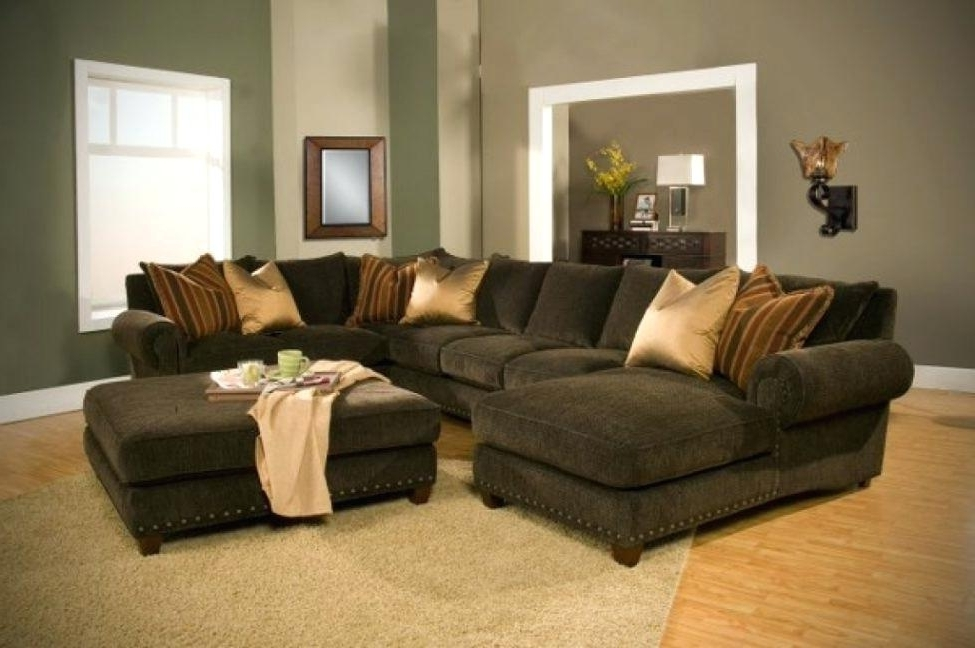 Recent Down Sectional Sofas Inside Fascinating Down Feather Couch Modern Fabric Sectional Sofa With (View 8 of 10)