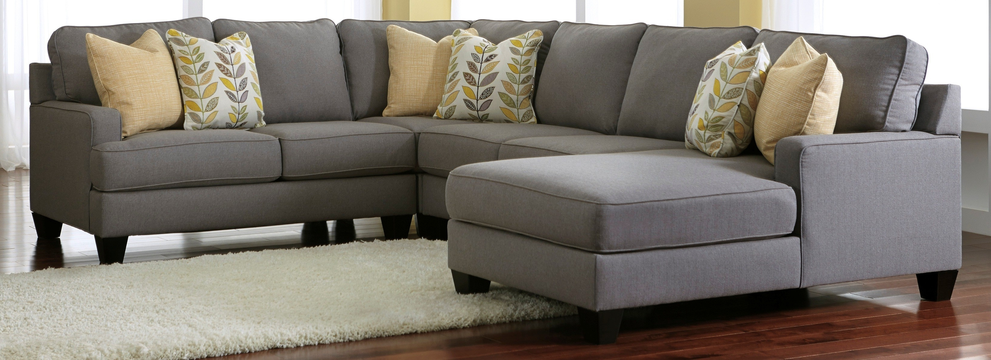 Recent Gray Sectionals With Chaise For Stunning Gray Sectional Sofas With Chaise Photos – Liltigertoo (View 4 of 15)