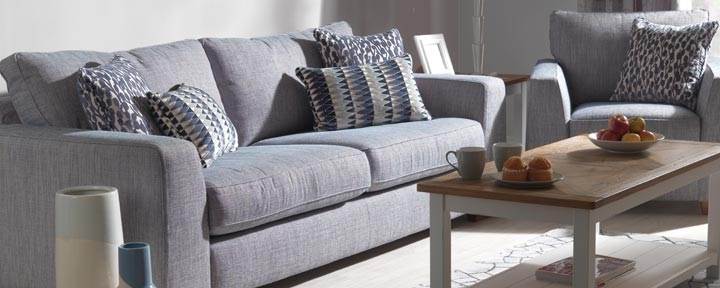 Recent Grey Fabric Sofa Uk (View 9 of 10)