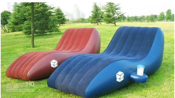 Recent Inflatable Sofas And Chairs Throughout Pvc Leisure Inflatable Sofa/kids Inflatable Sofa Chair/double Size (View 6 of 10)