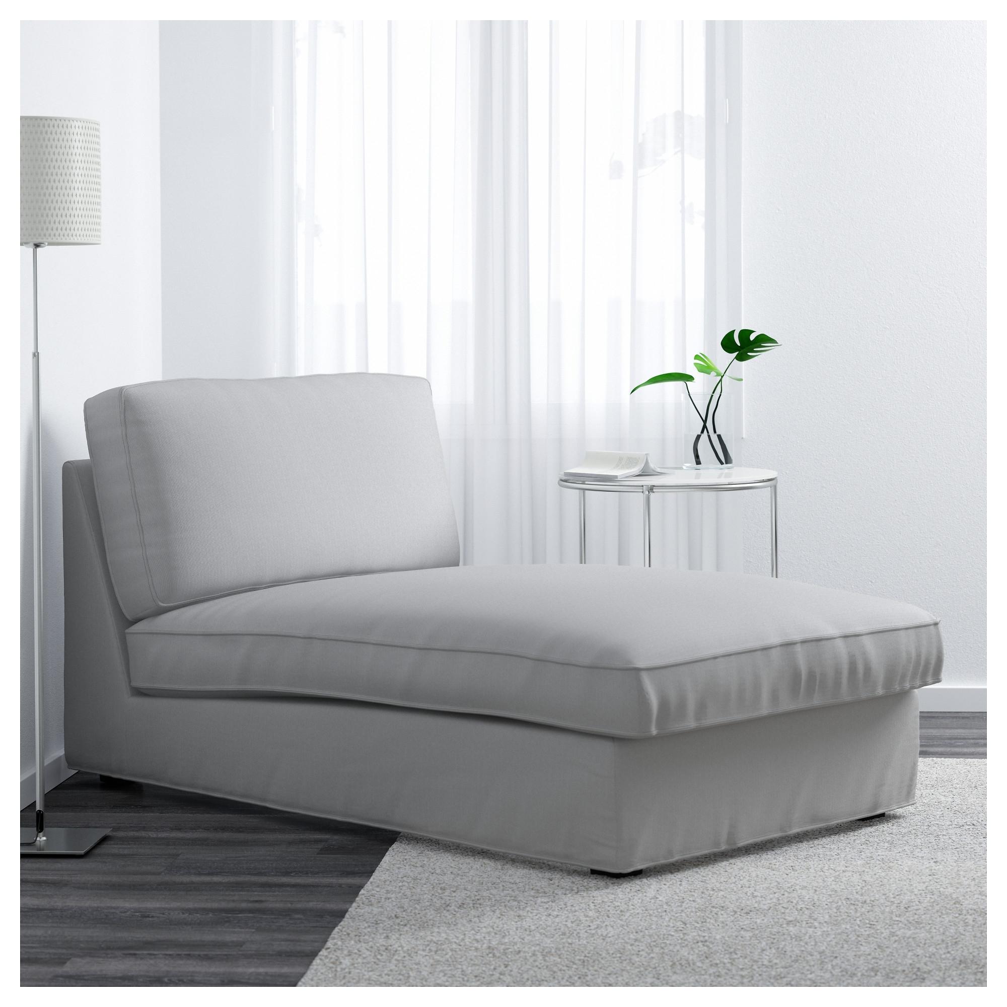 Recent Kivik Chaise Longue Ramna Light Grey – Ikea Regarding Ikea Chaise Lounge Chairs (View 4 of 15)