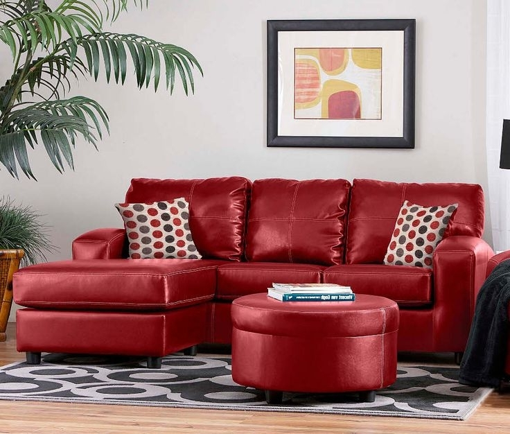 Recent Latest Red Sofa Sleeper 1000 Ideas About Red Leather Couches On Pertaining To Red Sofa Chairs (View 7 of 10)
