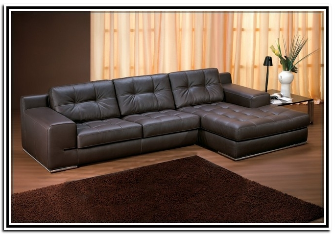 Recent Leather Lounge Sofas With Regard To Leather Couch With Chaise Lounge Pertaining To Household – Leeq (View 9 of 10)