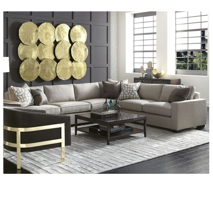 Recent New Mitchell Gold Sectional Sofa 51 For Your Living Room Sofa Regarding Gold Sectional Sofas (View 7 of 10)