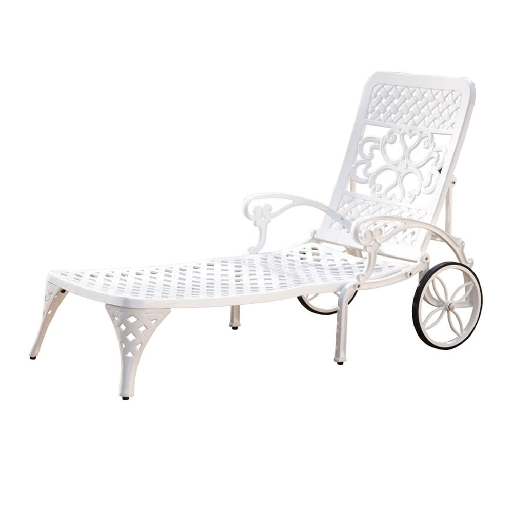Recent Overstock Outdoor Chaise Lounge Chairs Within Gracewood Hollow Rasmussen Chaise Lounge Chair – Free Shipping (View 14 of 15)