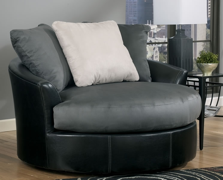 Attirant Recent Round Swivel Sofa Chairs With Regard To Emejing Round Sofa Chair  With Cup Holder Gallery