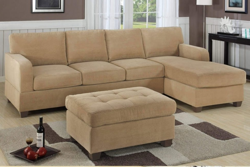Recent Small Sectional Sofas With Chaise And Ottoman Pertaining To Sofa : 2 Piece Sectional Sofa Where To Buy Sectionals Small (View 6 of 10)