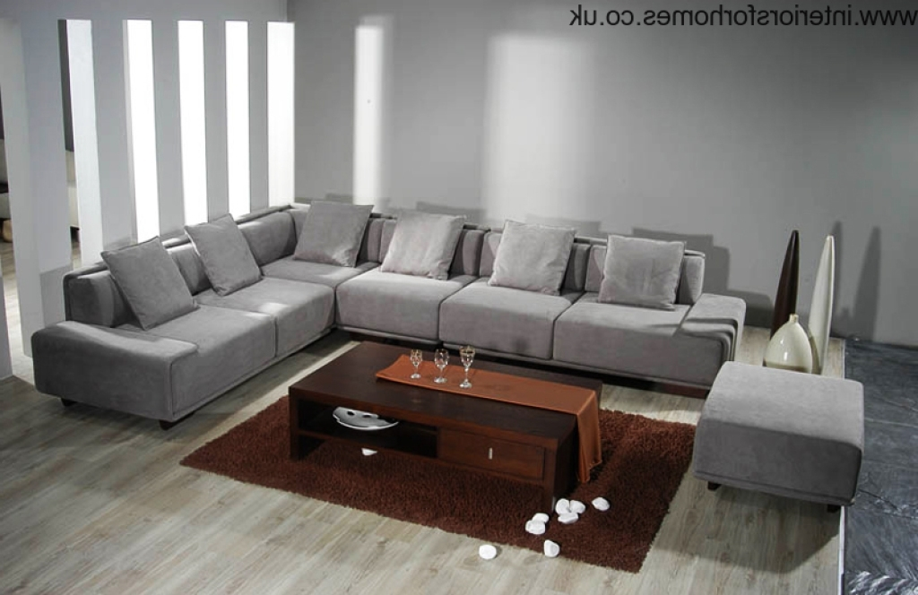 Recent Sofa Beds Design: Cozy Modern Huge Sectional Sofas Decorating Pertaining To Huge Sofas (View 8 of 10)