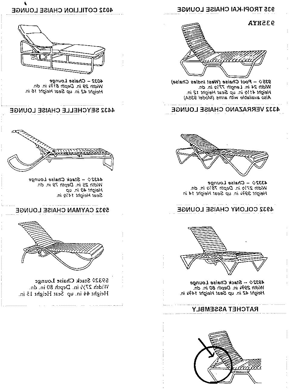 Recent Tropitone Chaise Lounges Throughout Recall Image: Chaise Lounge Chairs Recalltropitone :: Consumer (View 7 of 15)