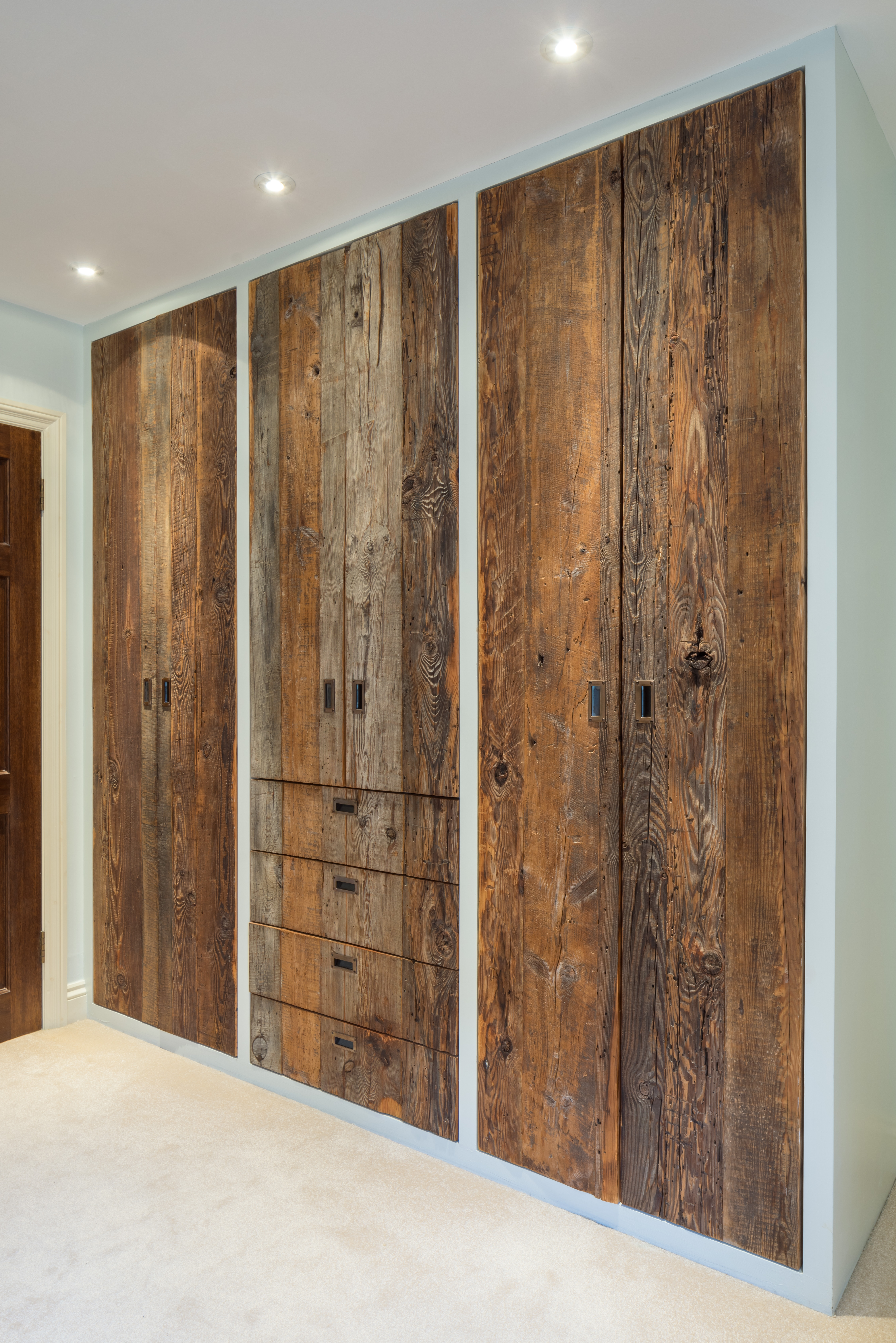 Reclaimed Wood Wardrobes – Brandler London Archives With Regard To Current Wood Wardrobes (View 3 of 15)