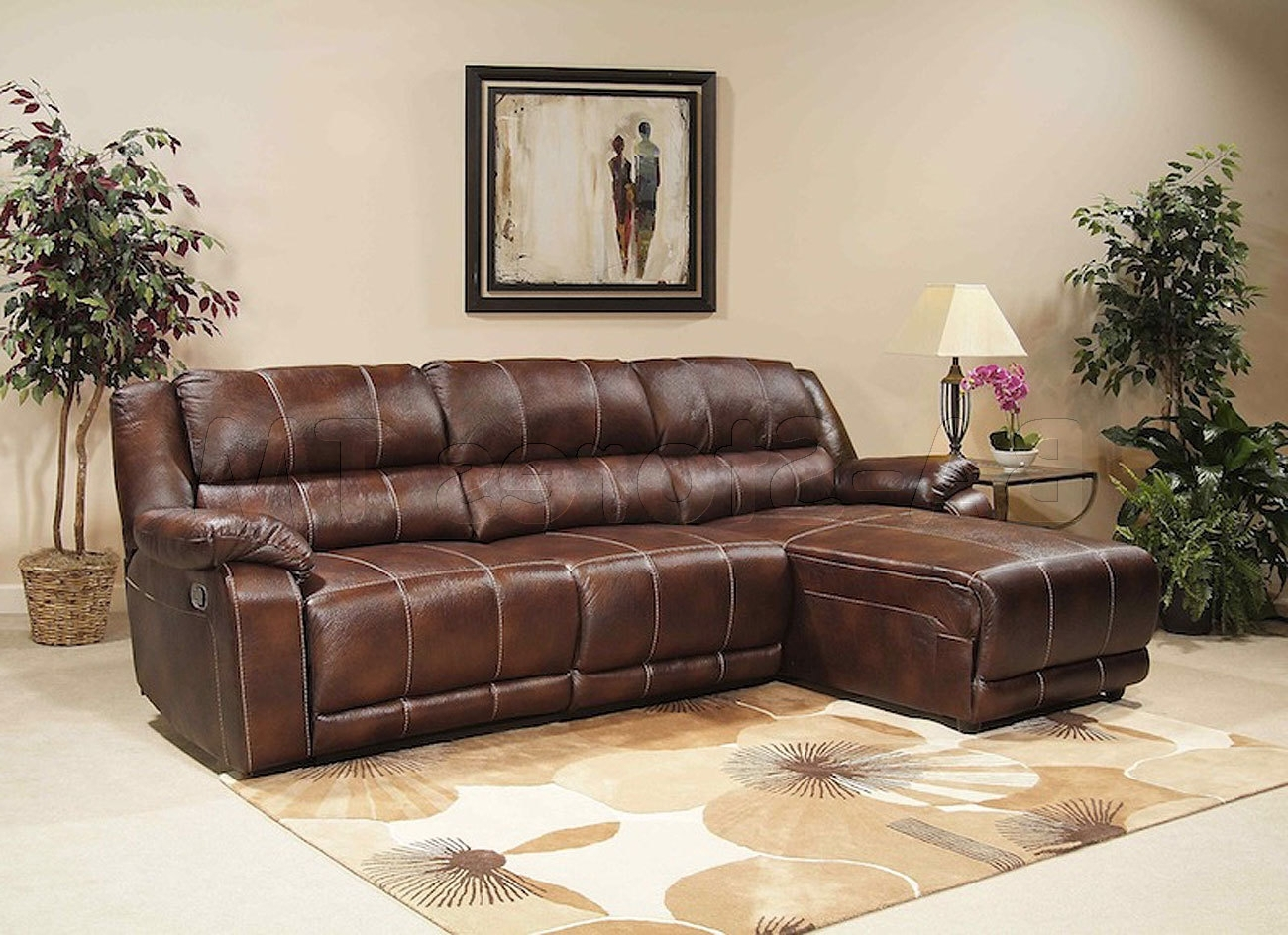Reclining Chaises Throughout Recent Sectional Sofa Design: Affordabale Sectional Reclining Sofa With (View 12 of 15)