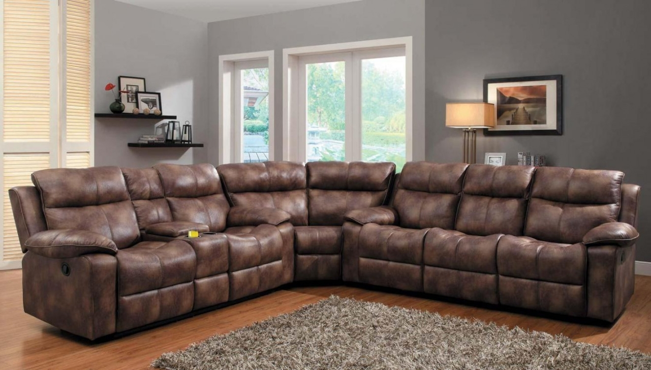 Reclining Sectional Sofa With Chaise Sofas Under 300 Or For Small Intended For 2017 Reclining Sofas With Chaise (View 4 of 15)