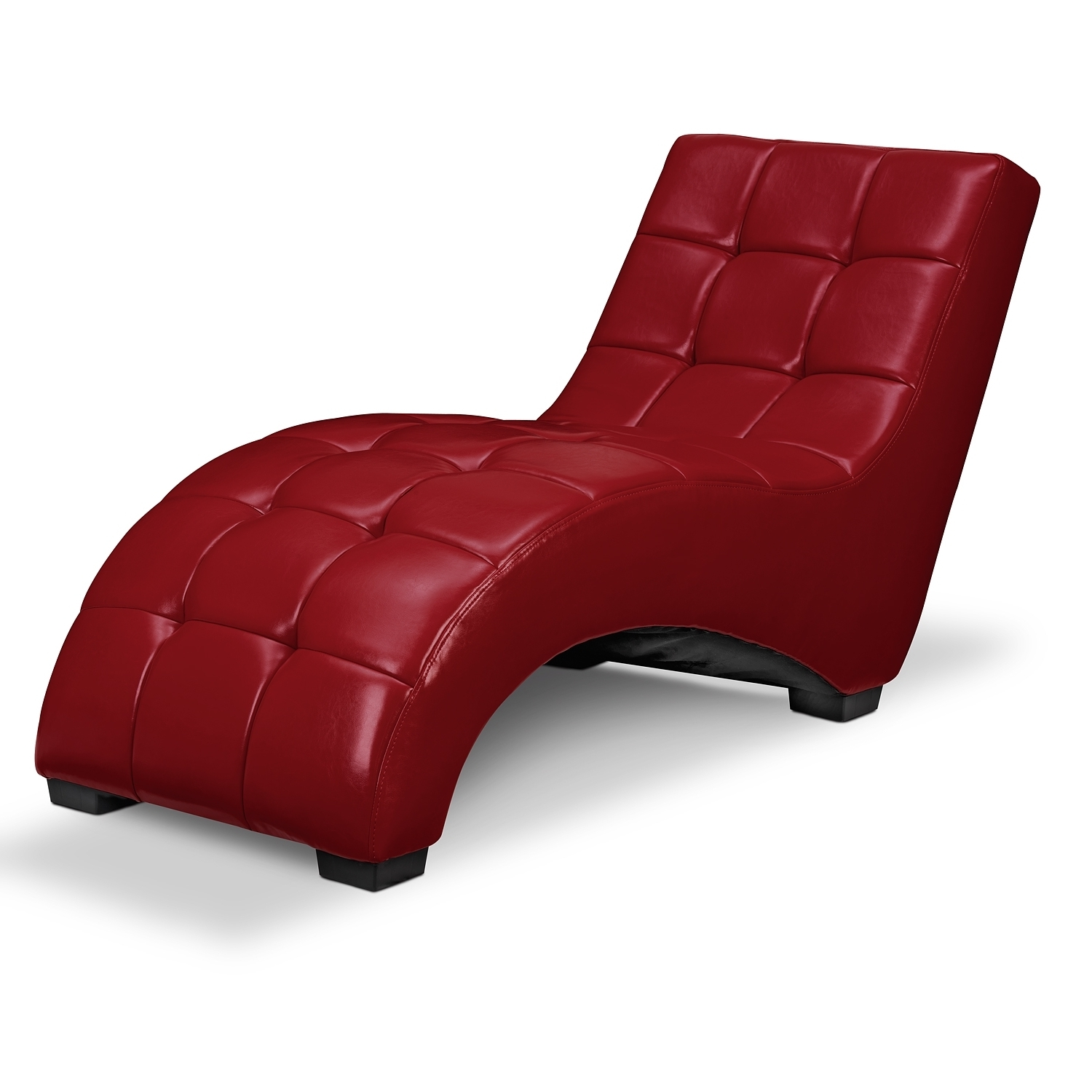 Red Chaise Lounges With Regard To Well Known Red Leather Chaise Lounge Chair • Lounge Chairs Ideas (View 3 of 15)