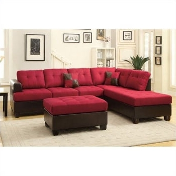 Red Faux Leather Sectionals In Well Known Best Tufted Sectional Sofa Products On Wanelo (View 8 of 10)