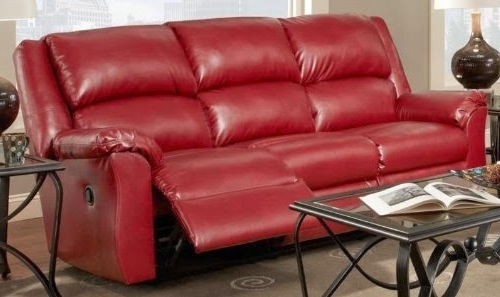 Red Leather Couches And Loveseats For Well Known Inspiring Leather Reclining Sofa And Loveseat The Best Reclining (View 3 of 10)