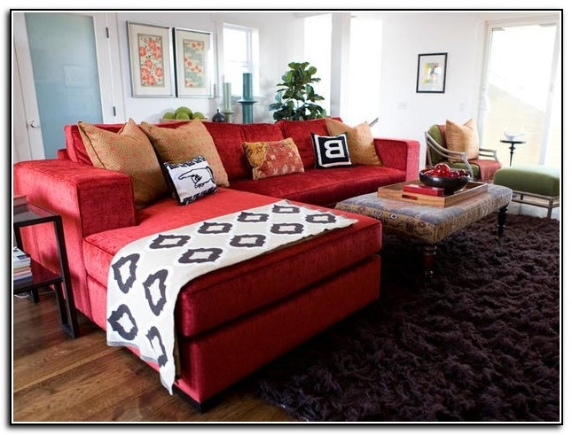Red Leather Couches For Living Room Regarding Fashionable Coolest Red Leather Couch Living Room Ideas 88 In With Red Leather (View 10 of 10)